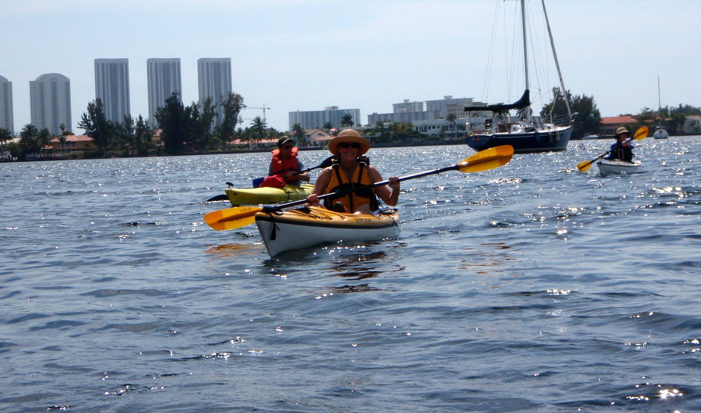 Kayaking at Oleta Park